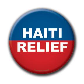 Haiti Fundraising Button