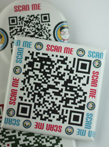 QR code buttons