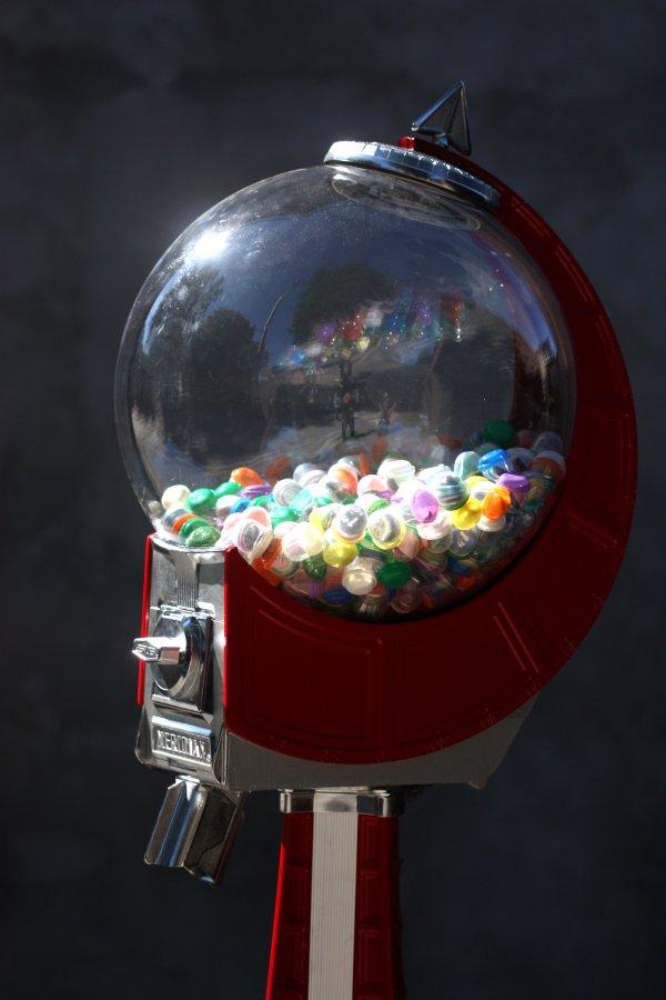 Button Vending Machine