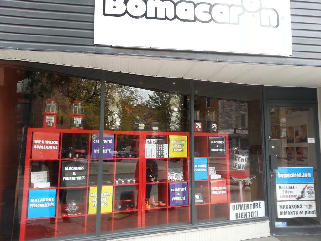 Bomacaron Button Shop Quebec