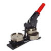 Standard Tecre Black with red handle swing action button maker