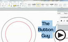 making buttons in word columns